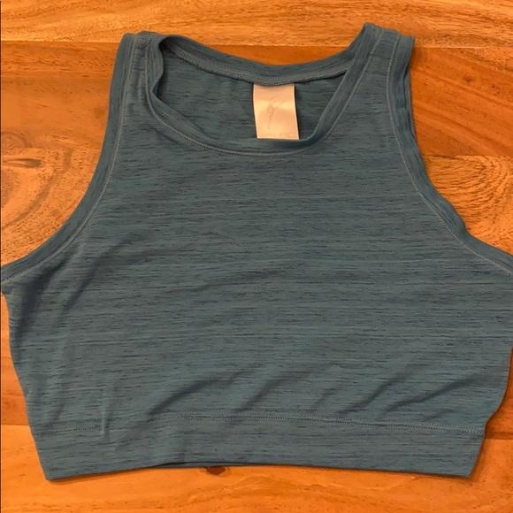 Studio athletic crop top shirt